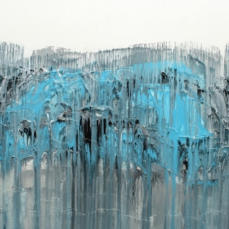 "Glaciers, 30 x 40"", $425"