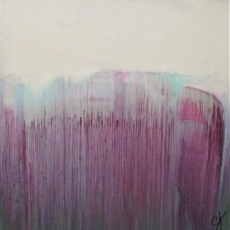 "The Falls, 36 x 36"", $550"