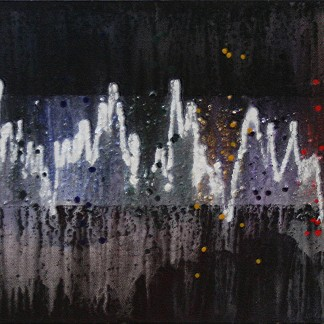 """Highs and lows, 12 x 36"""", $225"""
